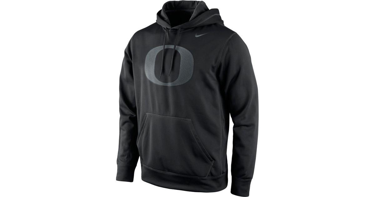 f0fb8f43 Nike Men'S Oregon Ducks Stadium Lights React Hoodie in Black for Men - Lyst