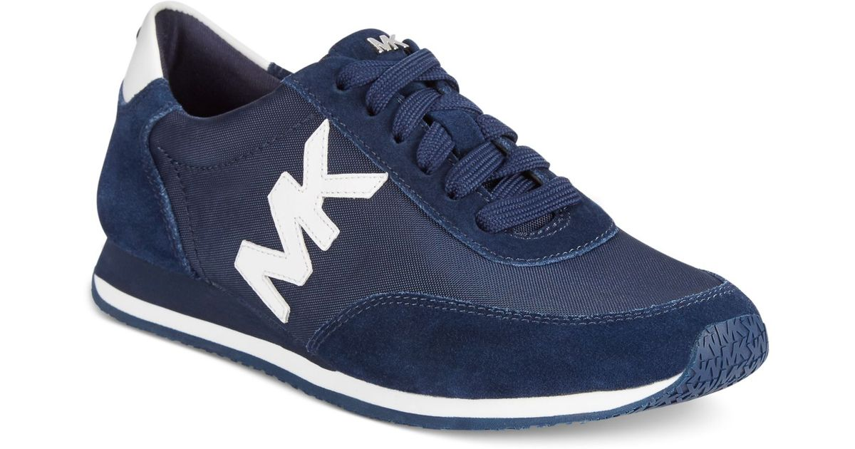 5a535bfce5108 Lyst - Michael Kors Michael Stanton Trainer Sneakers in Blue