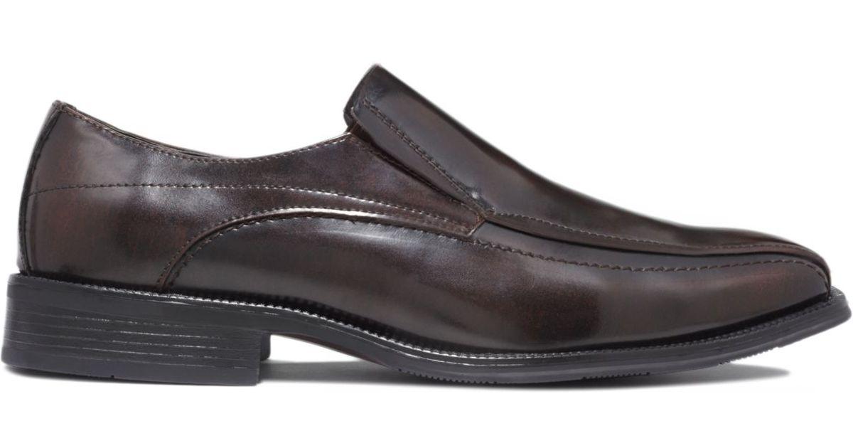 Alfani Mens Ascher Bike Toe Slip on Shoes Extended
