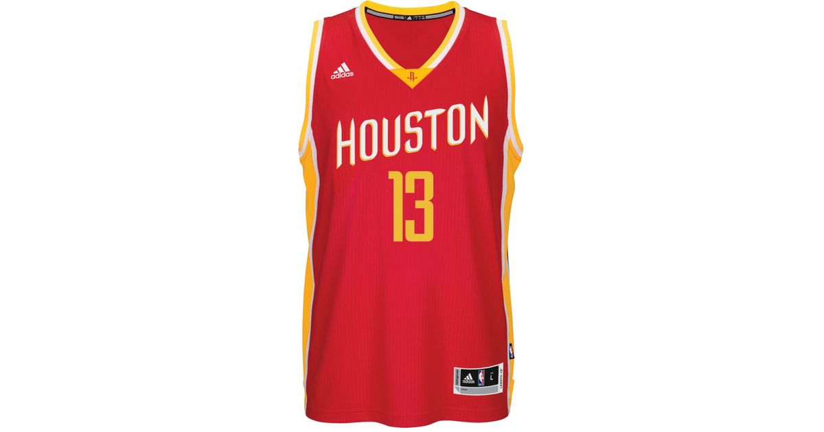 100% authentic fa15b 4e015 Adidas Red Men's James Harden Houston Rockets Swingman Jersey for men