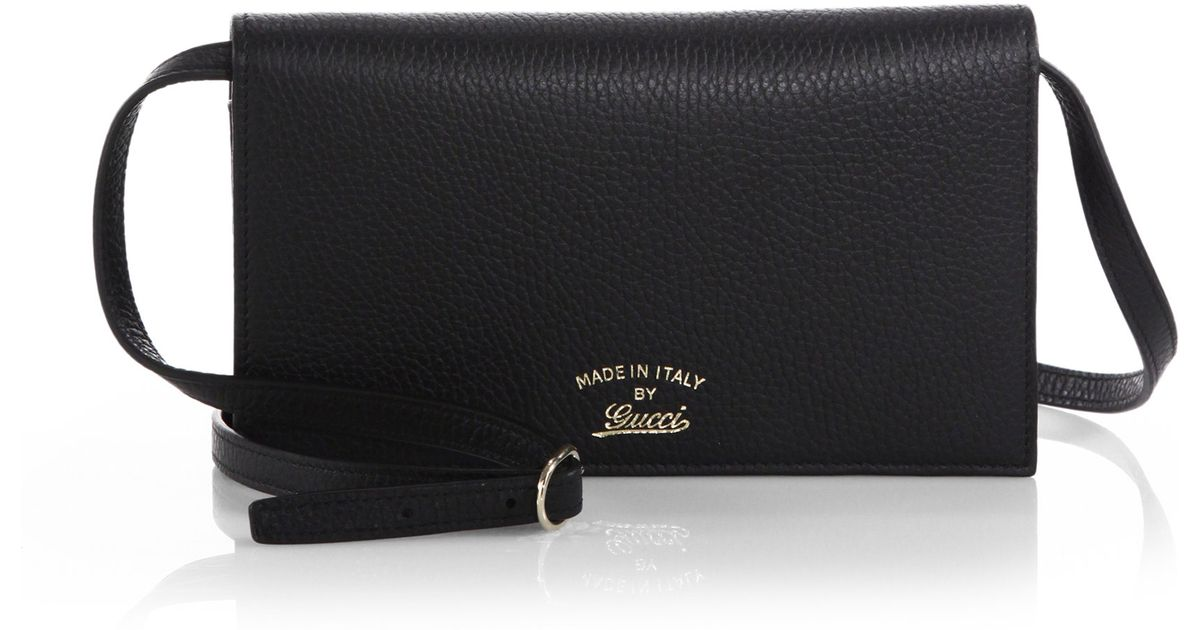 9454b4a89b4cf1 Gucci Swing Leather Wallet With Strap Review | Stanford Center for ...