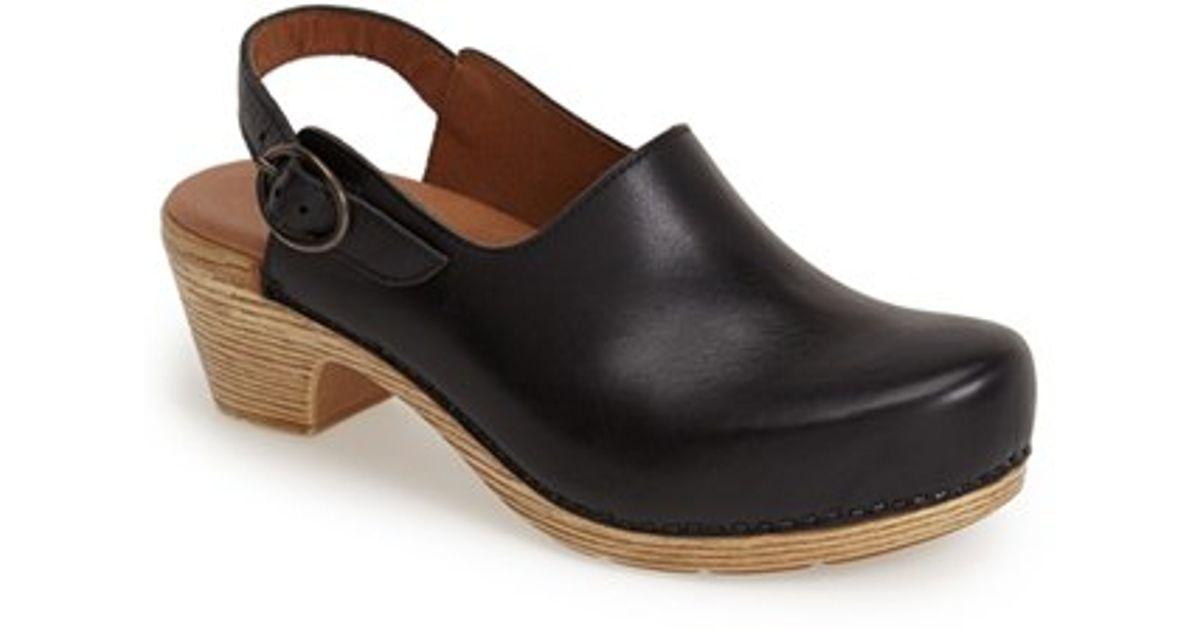 Clog Black 'madison' Black Dansko Leather Dansko Black 'madison' Clog 'madison' Leather Dansko qpMGULSzV