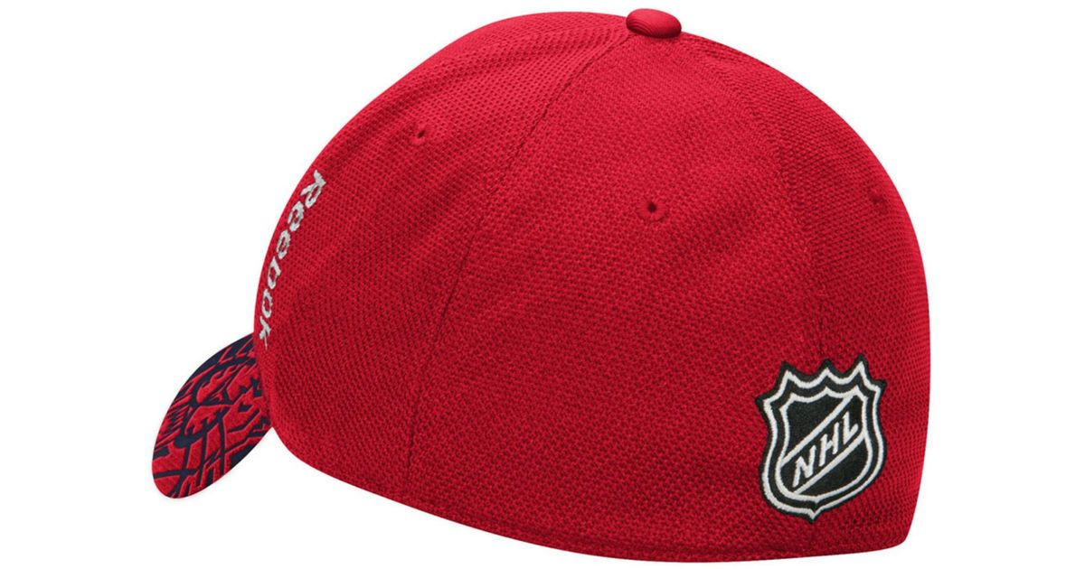 sale retailer 010e3 6ddd7 purchase adidas florida panthers 2017 structured flex mens draft hat 5a9b4  e543a  uk lyst reebok florida panthers nhl 2015 draft flex cap in red for  men ...