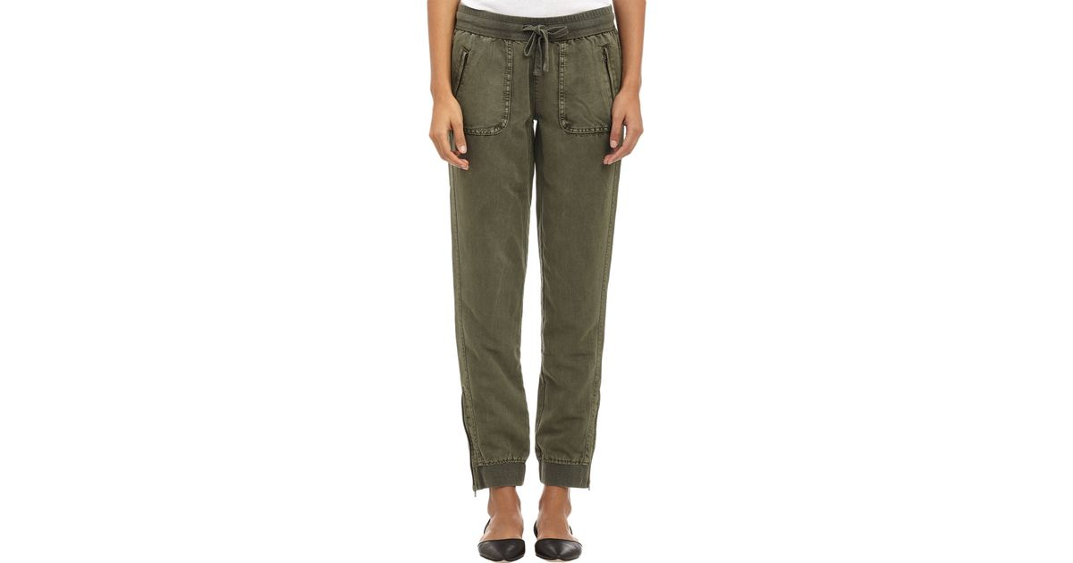 c21991025a719b Barneys New York Rio Jogger Pants in Green - Lyst