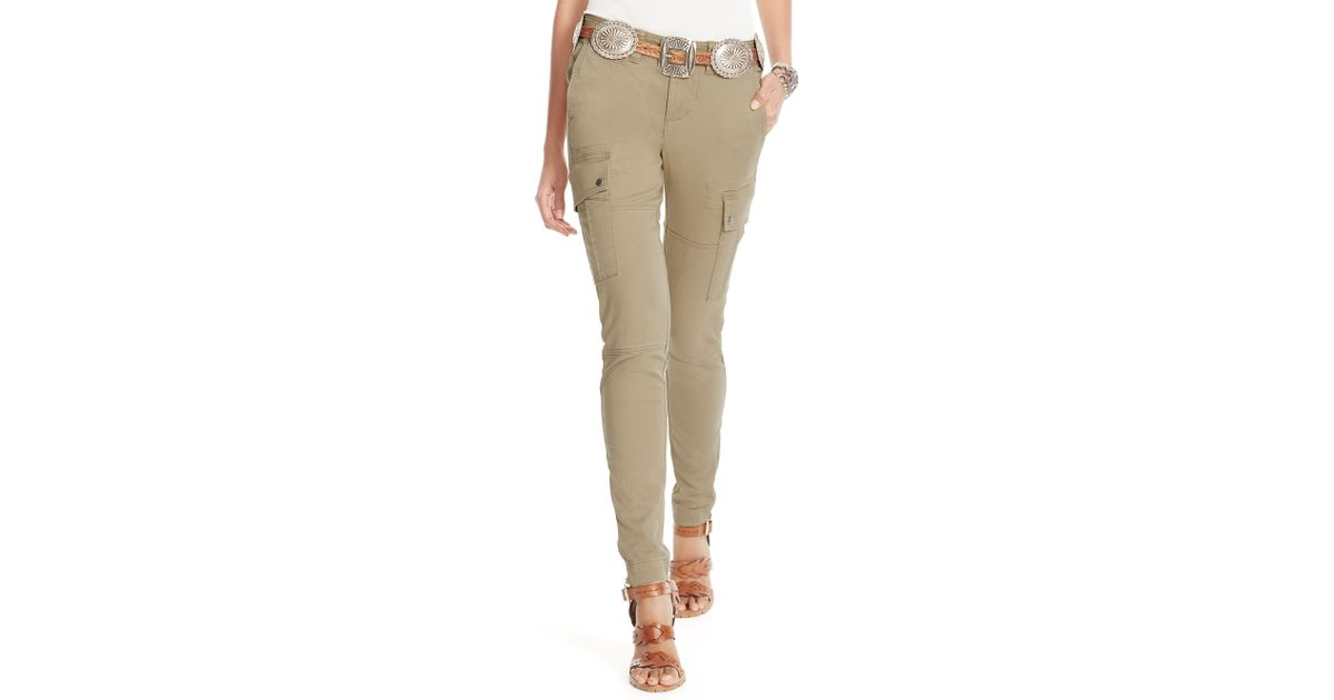 7438cb10 Polo Ralph Lauren Stretch Twill Cargo Pant in Green - Lyst