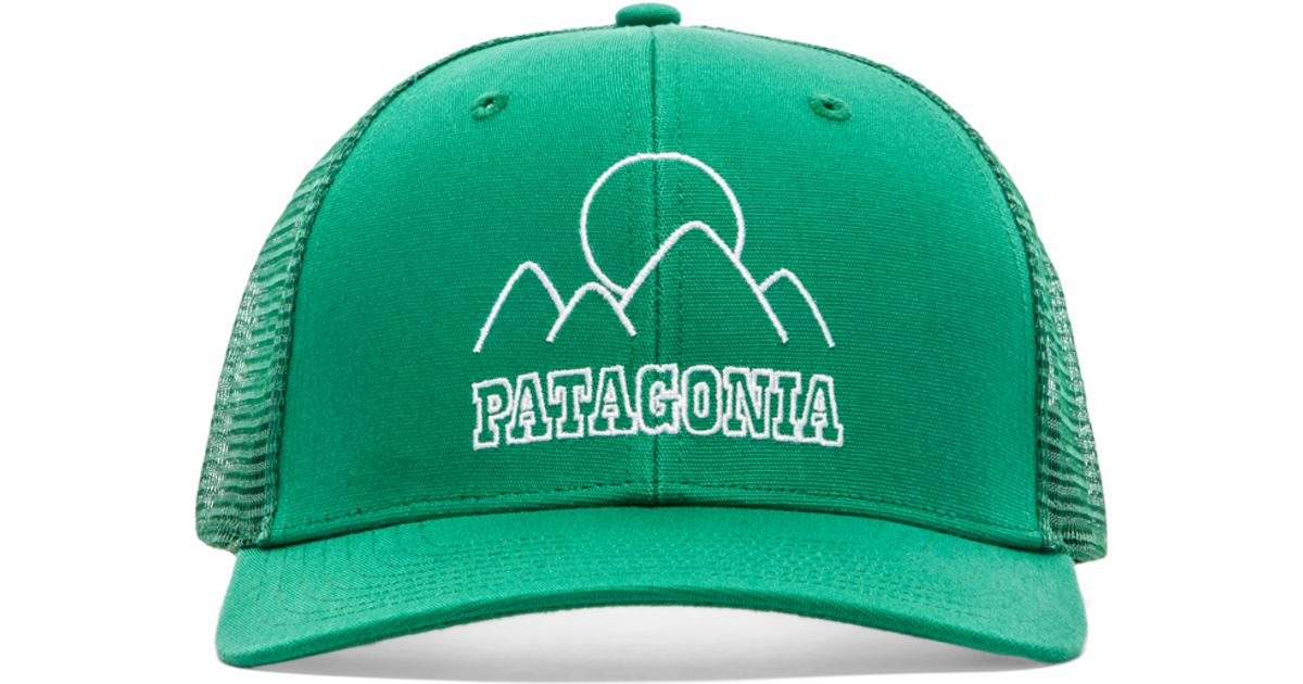 549a32e64a Patagonia Trucker Hat in Green - Lyst
