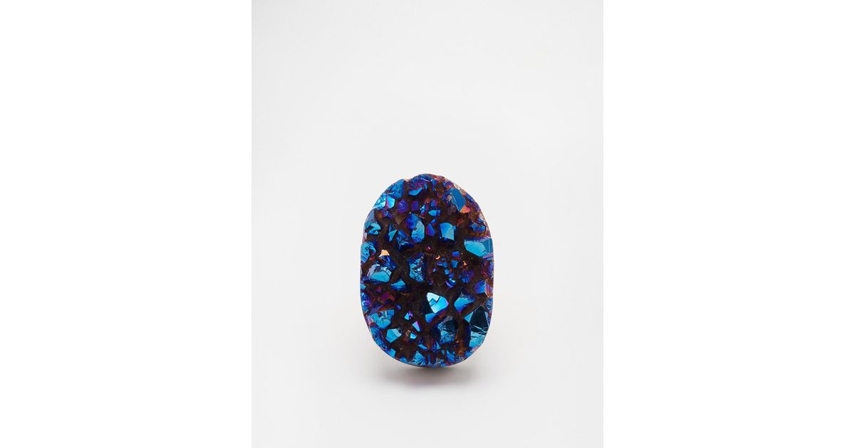 Only Child - Blue Asteroid Ring - Lyst