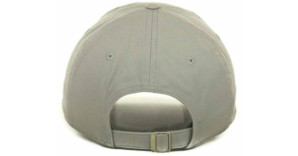 timeless design de471 5e276 ... low price greece lyst nike ohio state buckeyes heritage 86 campus cap  in gray for men ...