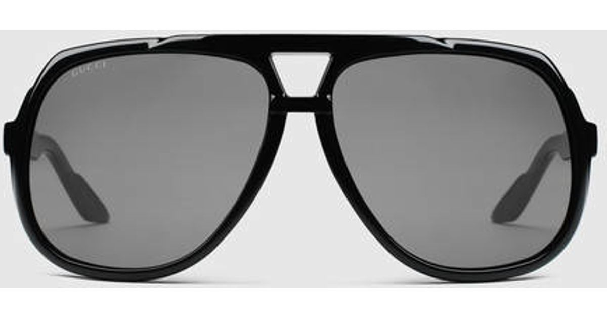 a20fdf080b GUCCI Large Aviator Sunglasses available at Priceless.pk in the ...