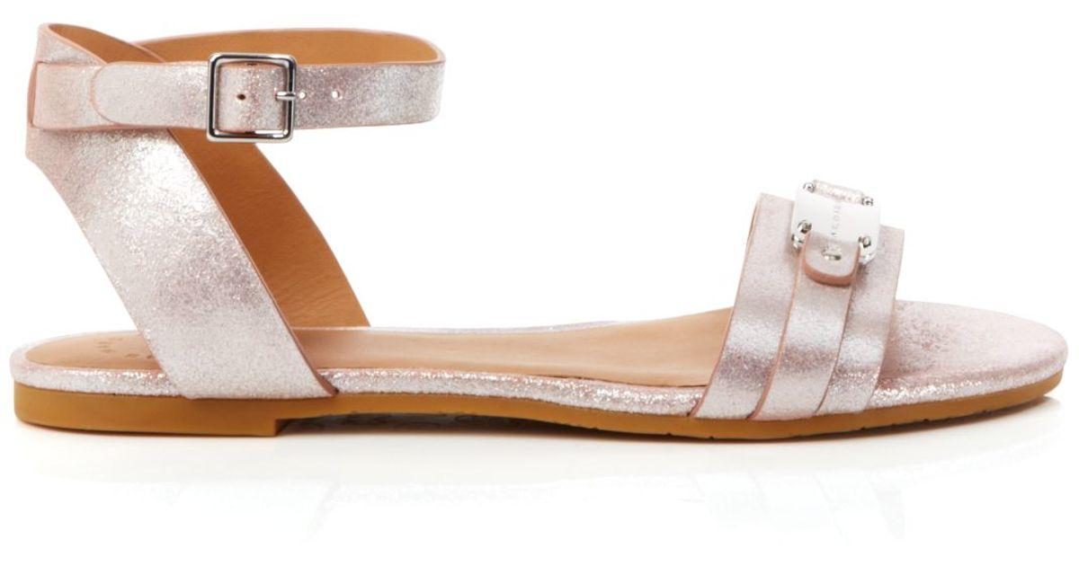 Marc Jacobs Open Toe Flat Sandals