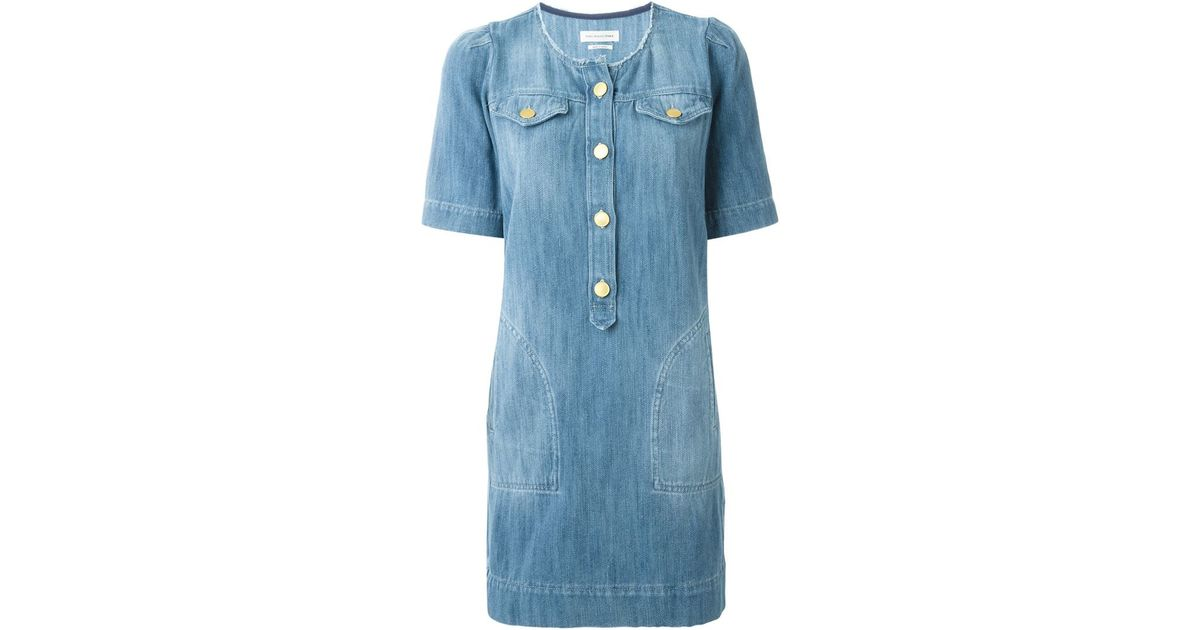 6e4271e701 Lyst - Étoile Isabel Marant  oriane  Denim Dress in Blue