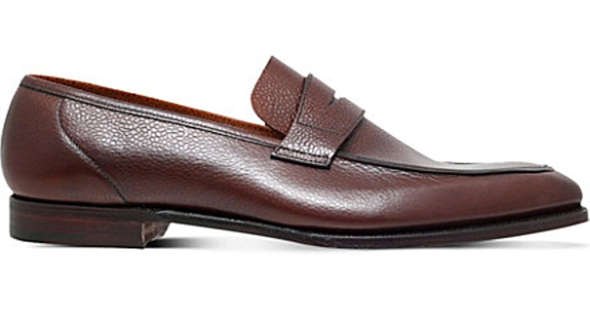 George Suede Penny Loafers - BrownGeorge Cleverley
