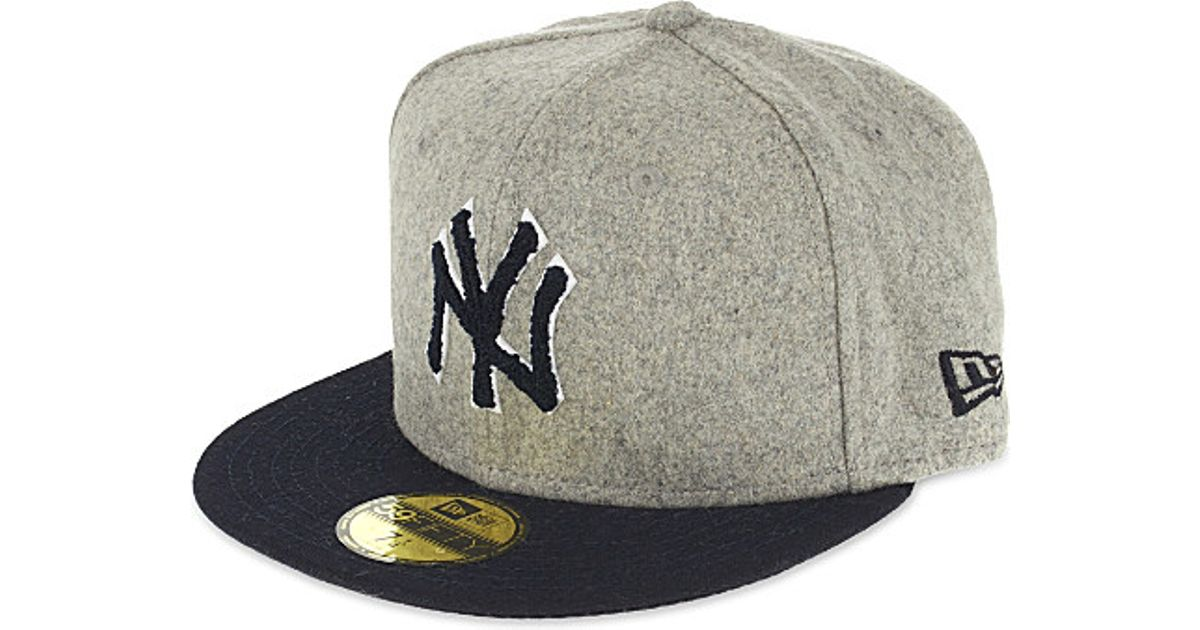 best service 25858 b3e14 KTZ 59fifty New York Yankees Fitted Cap in Black for Men - Lyst