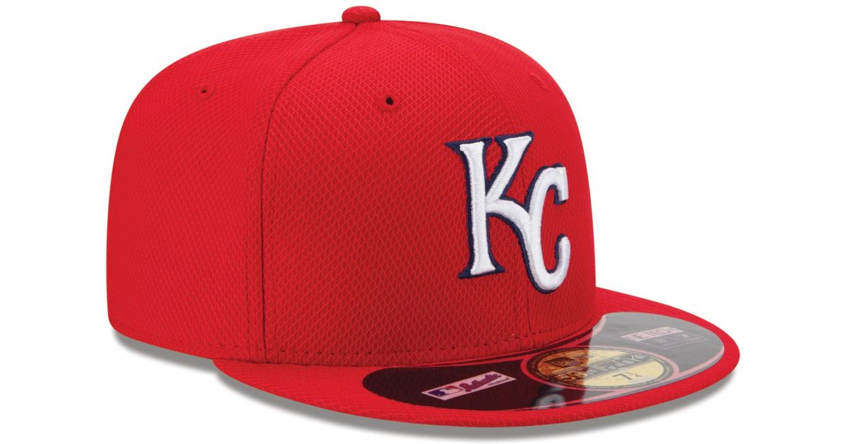 Lyst - KTZ Kansas City Royals Home Run Derby 59fifty Cap in Red for Men 402b273ccb3