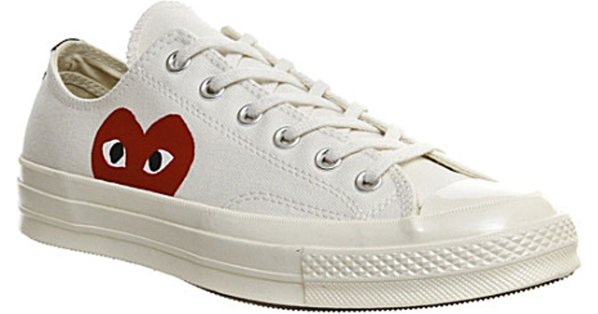 Rubber Converse 70s X Play Cdg Trainers