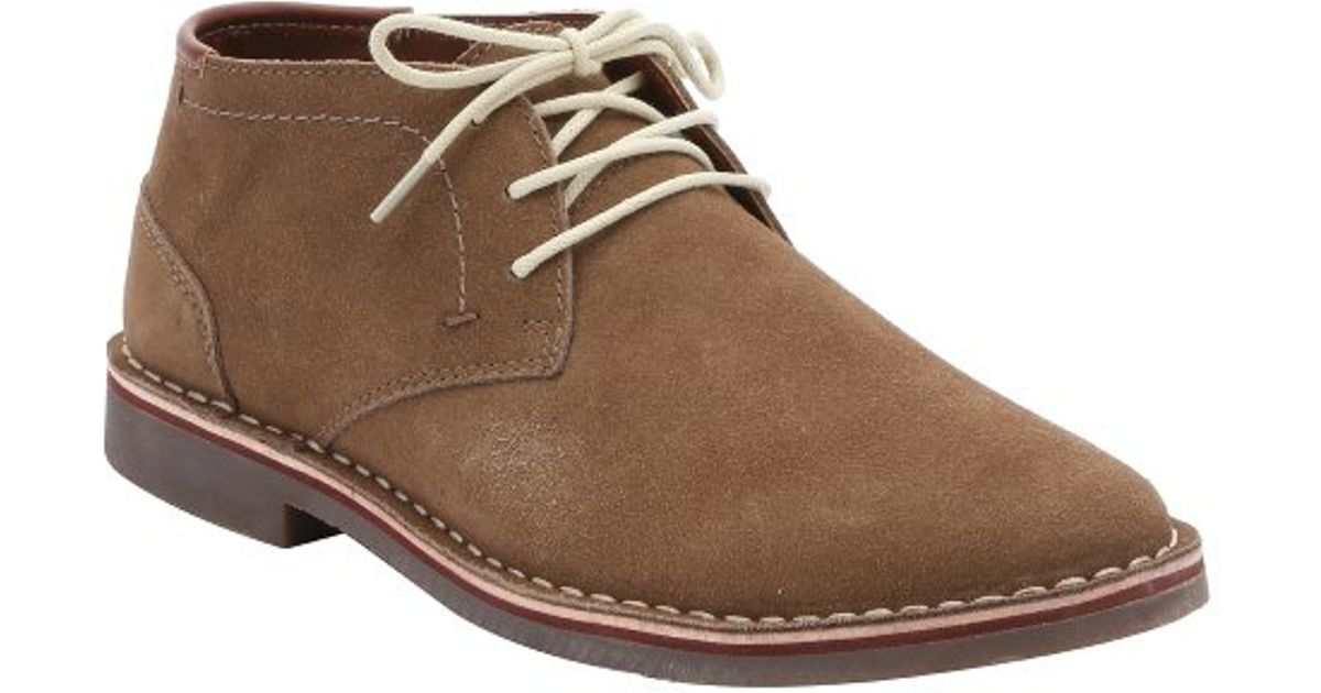 Kenneth cole reaction Taupe Suede 'desert Sun' Chukka Boots in ...