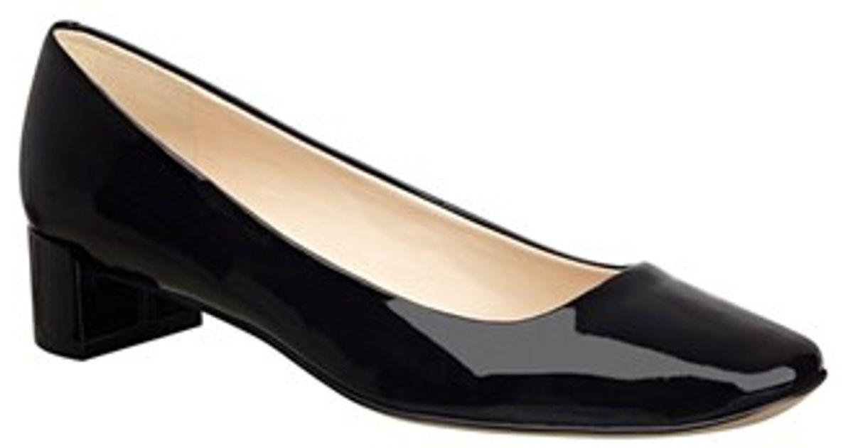 Nine West Black Patent Shoes