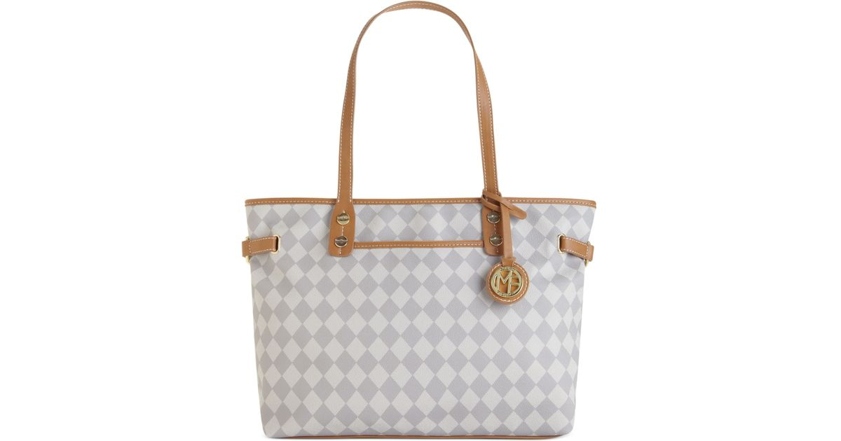 Marc Fisher Checkmate Large Tote In