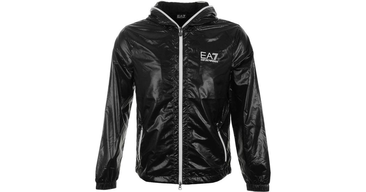 4545a59d8ae0c Emporio Armani Sea World Jacket in Black for Men - Lyst