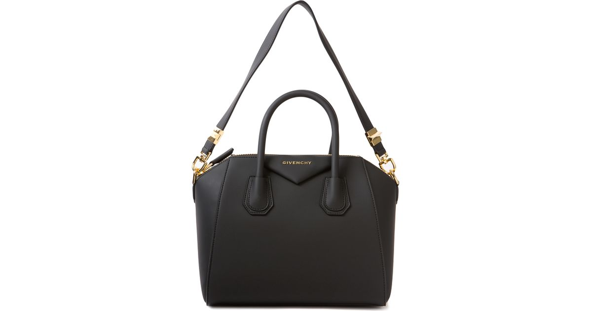 202709b17c28 Lyst - Givenchy Antigona Rubber Bag in Metallic
