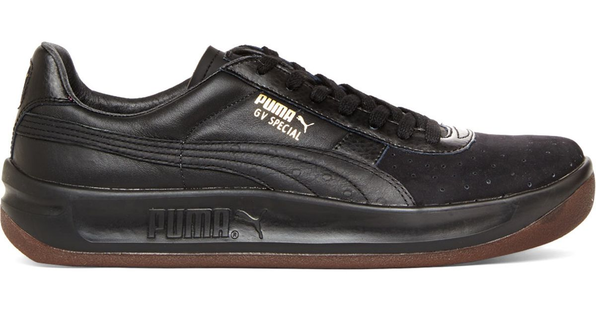 huge discount 53a23 4097a PUMA Black Gv Special Exotic Sneakers for men