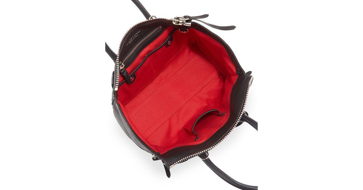 e9645c8c36 Ralph Lauren Black Ricky 27 Soft Satchel Bag