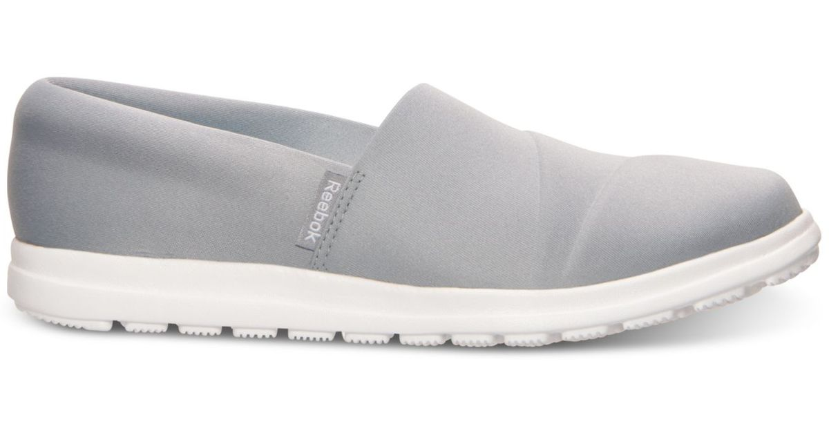 Lyst - Reebok Women s Skyscape Harmony Walking Shoes From Finish Line in  Gray 0c70e2d06