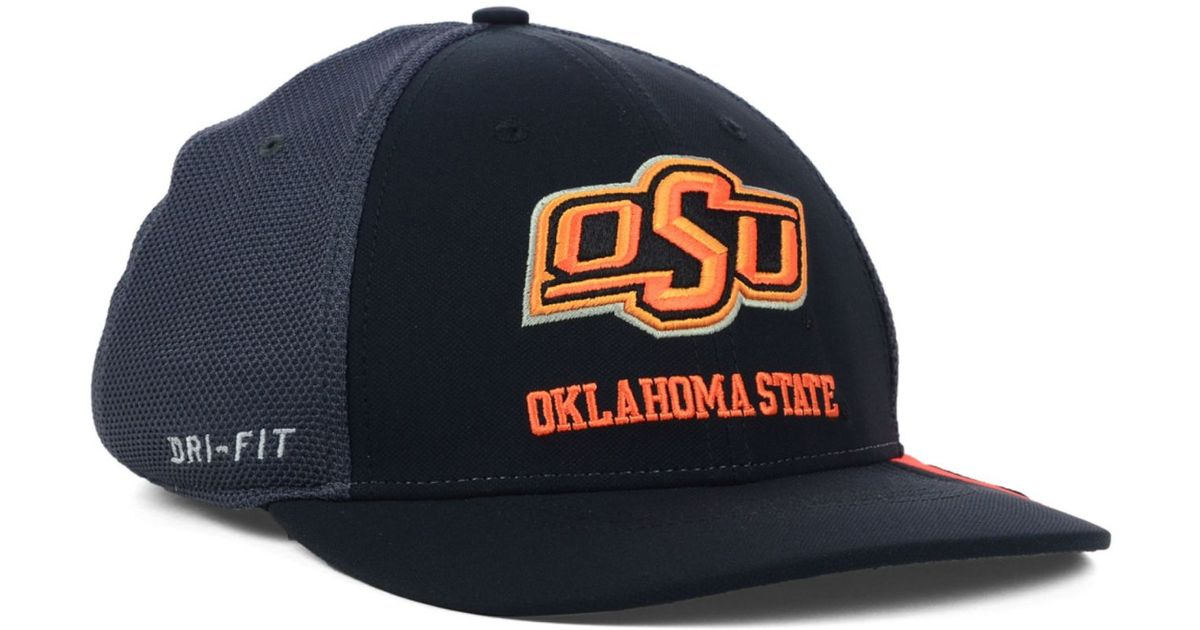official photos 80258 c5b84 ... clearance lyst nike oklahoma state cowboys ncaa conference legacy cap  in black f81aa fbbdf