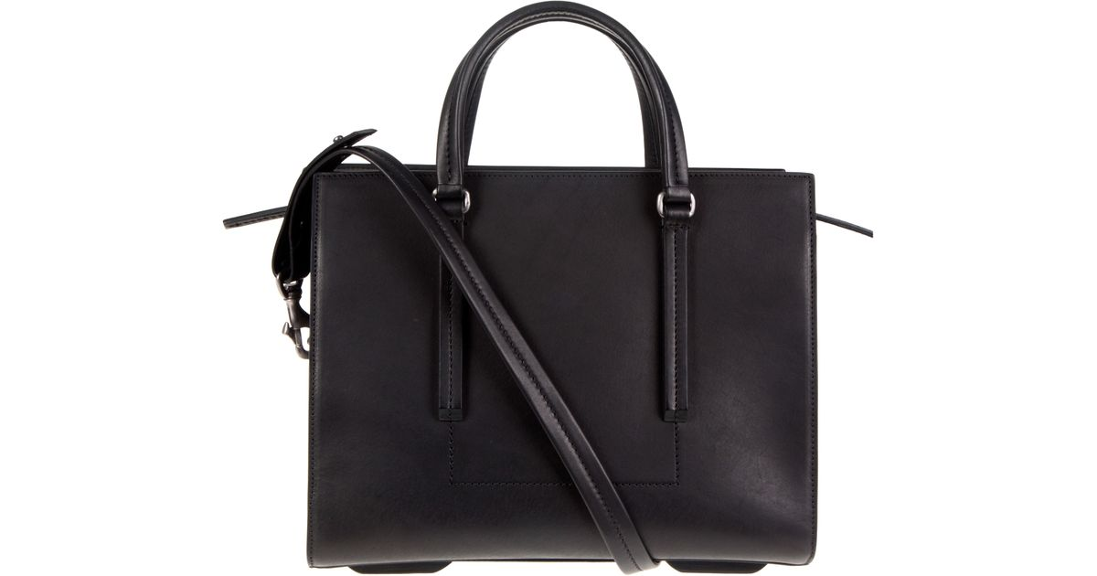 Rick Owens Black Mini Edith Bag