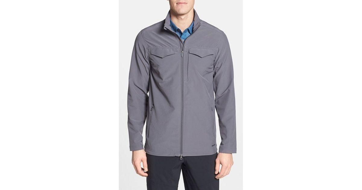 f5b3f2585b Merrell - Gray 'stapleton' Soft Shell Jacket for Men - Lyst