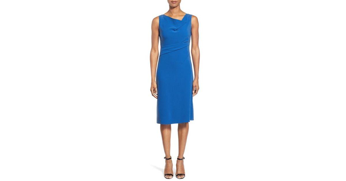 ec91b71892160 Lyst - Elie Tahari 'maize' A-line Dress in Blue
