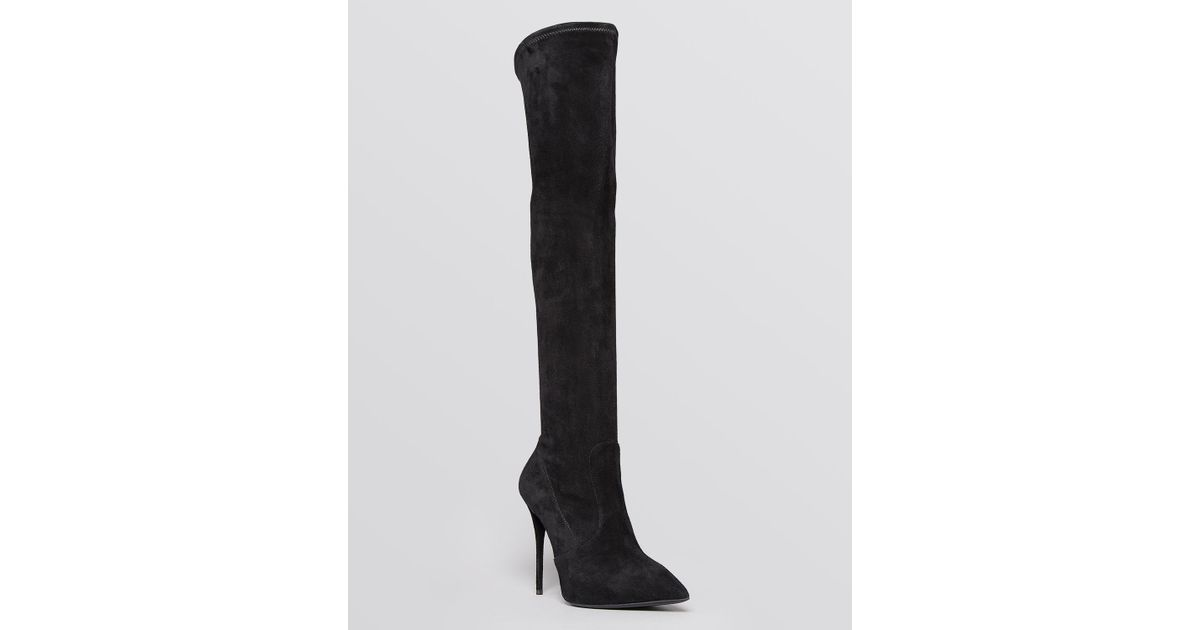 Collections Black Velvet Cika Over-the-Knee Boots Giuseppe Zanotti In China Sale Online Latest Collections Cheap Online Many Kinds Of Online ipgniu