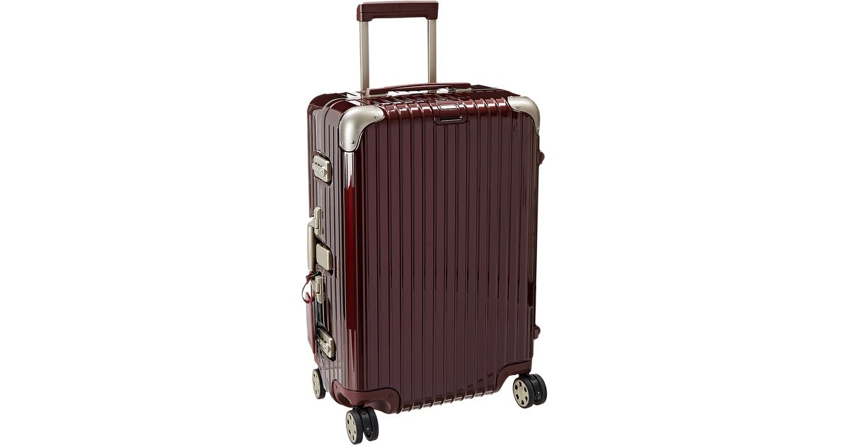 rimowa limbo 26 multiwheel in red for men lyst. Black Bedroom Furniture Sets. Home Design Ideas