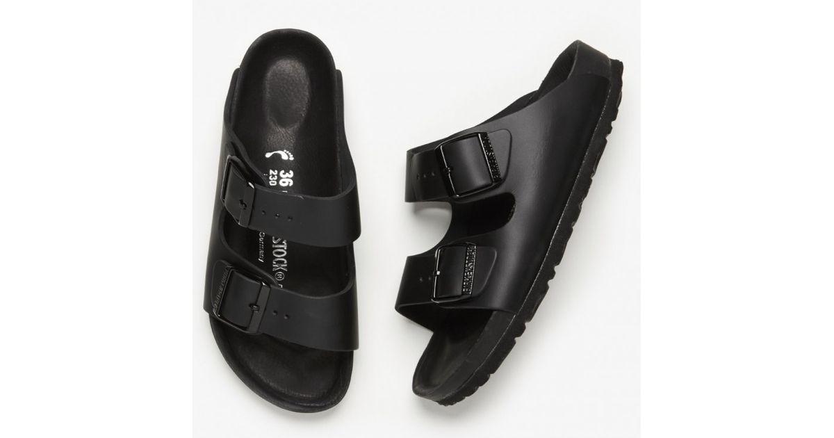 a4dfaeb390ad Lyst - Birkenstock Monterey Exquisite in Black