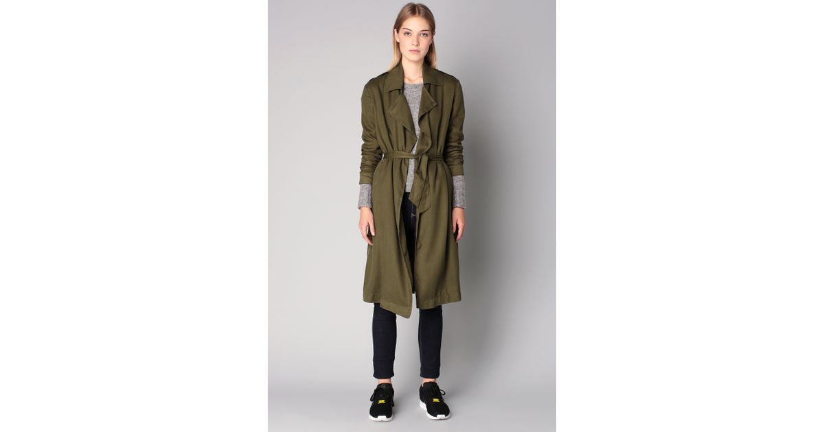 American vintage Trench / Parka in Green