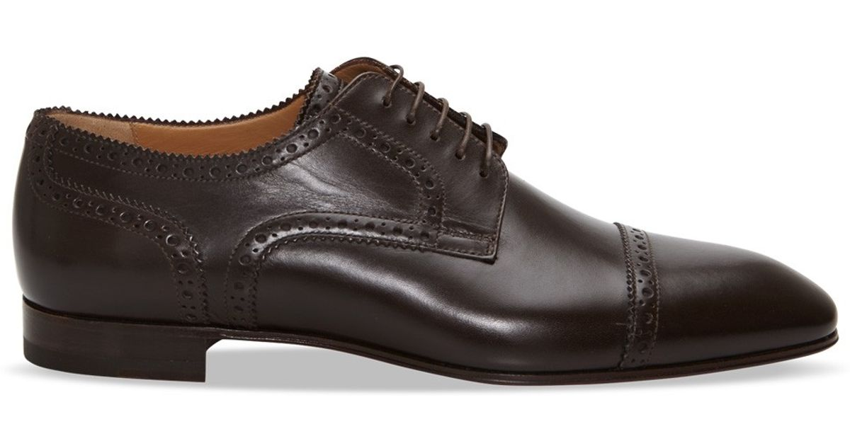 09749274a74 Lyst - Christian Louboutin So Charles Leather Derby Shoes in Black for Men