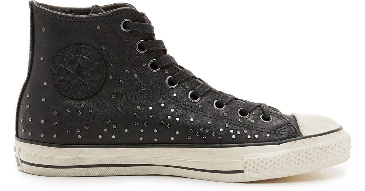 converse chuck all high top sneakers in black