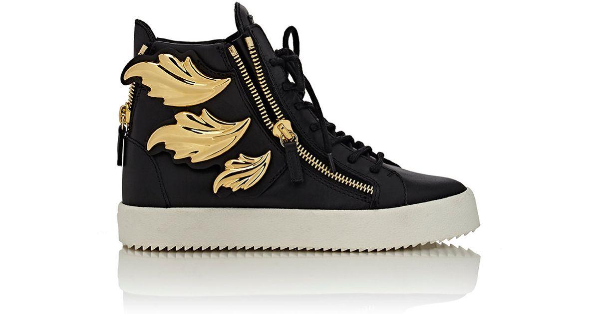 e988d3a1dacd9 Lyst - Giuseppe Zanotti cruel Double-zip Sneakers in Black