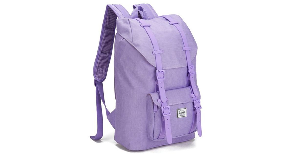 Herschel Supply Co. Classics Little America Mid Volume Backpack in Purple  for Men - Lyst 8bce51f879