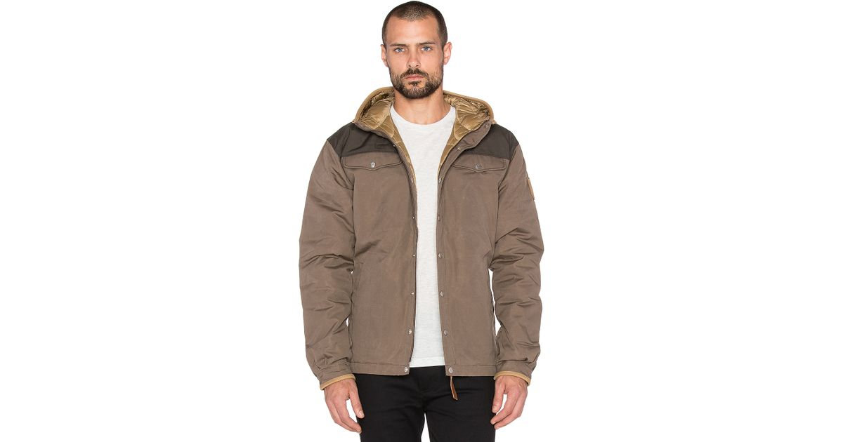 Fjallraven Greenland No 1 Down Jacket In Brown For Men Lyst