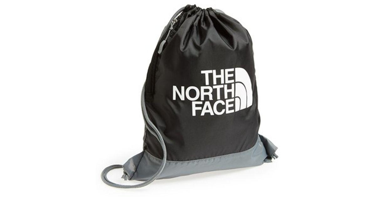 66058c749 The North Face Black 'sack Pack' Drawstring Bag for men