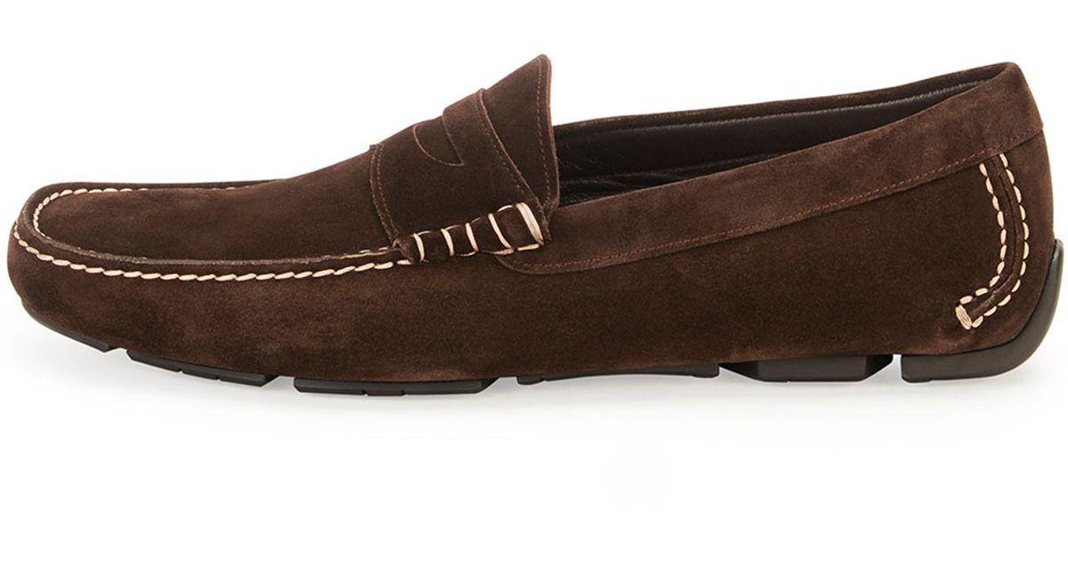 Brown Ferragamo Womens Shoe