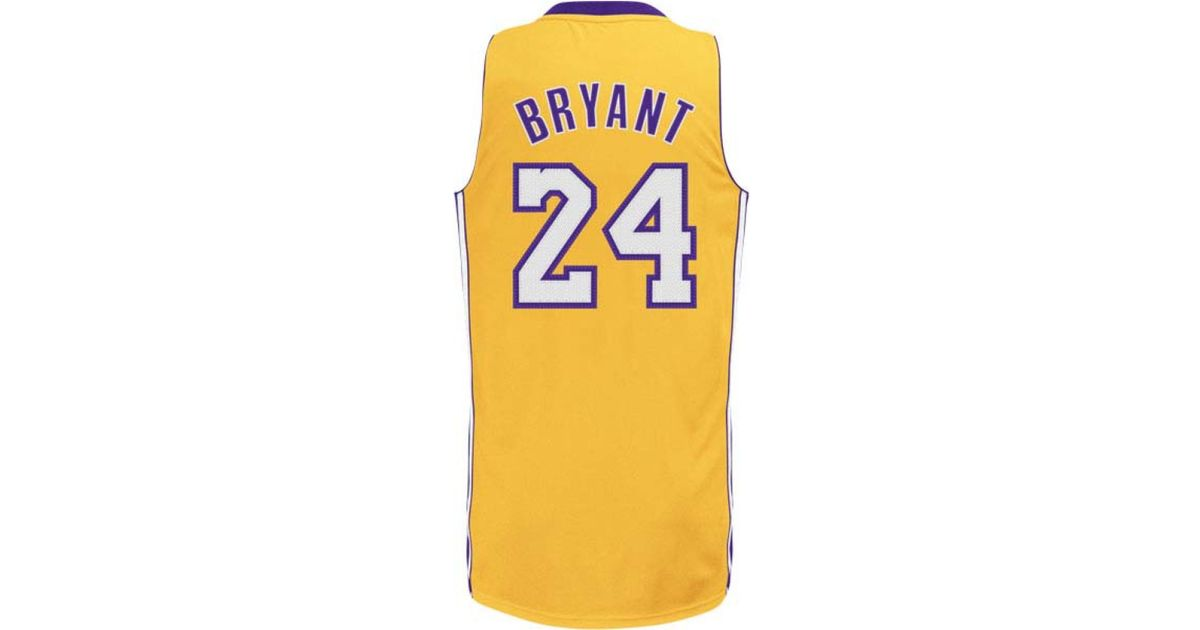 1b1404044ed7 lakers replica jersey lakers replica jersey  lakers replica jersey Lyst -  Adidas Toddlers u0027 Kobe Bryant Los Angeles ...