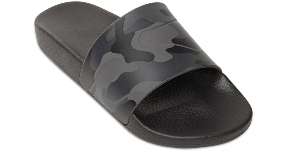 Valentino Camouflage Printed Rubber