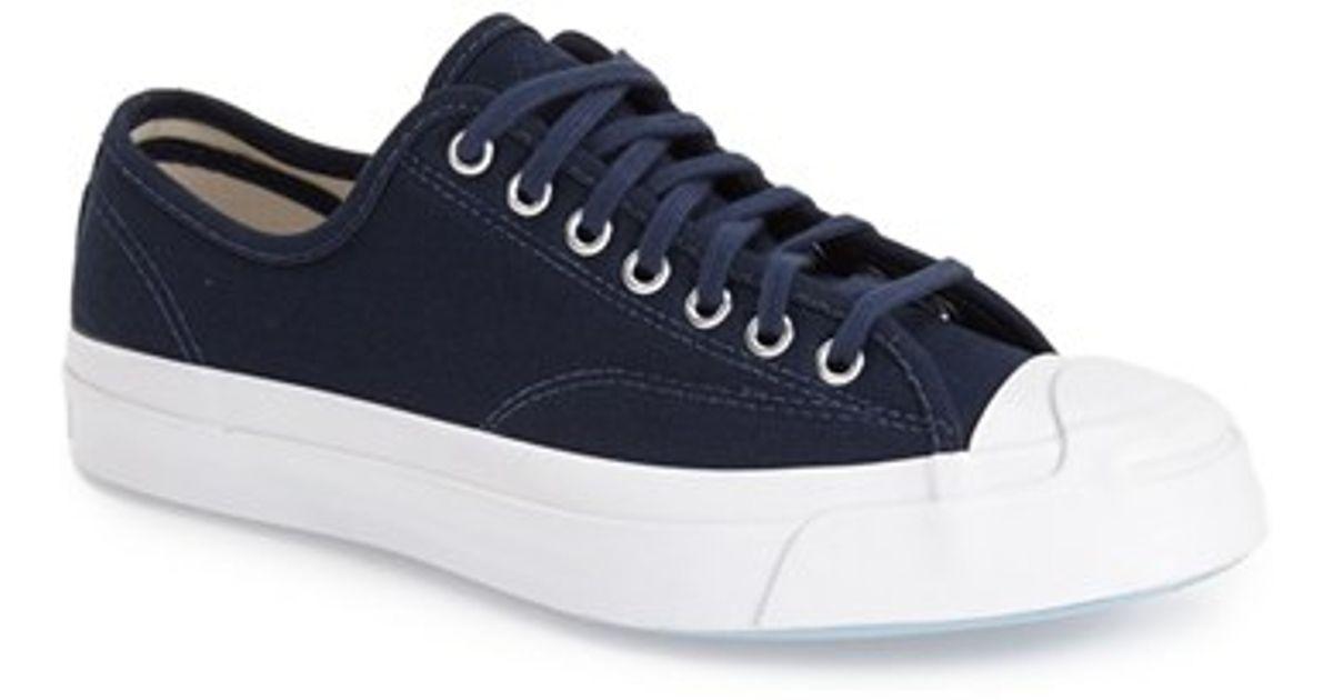 7058e970afa2a0 Lyst - Converse  jack Purcell  Signature Sneaker in Blue for Men