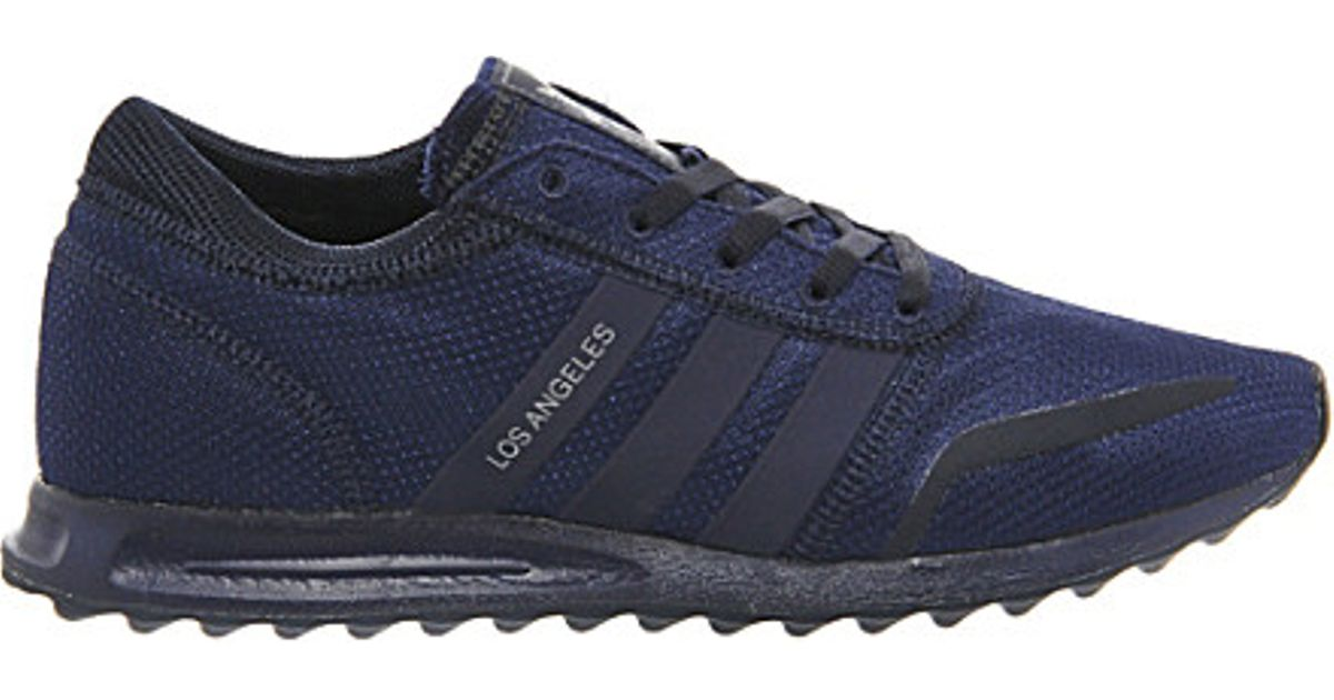 Adidas Originals Blue Los Angeles Trainers for men
