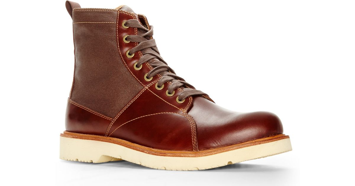 Timberland Brown Abington Chamberlain Boots for men