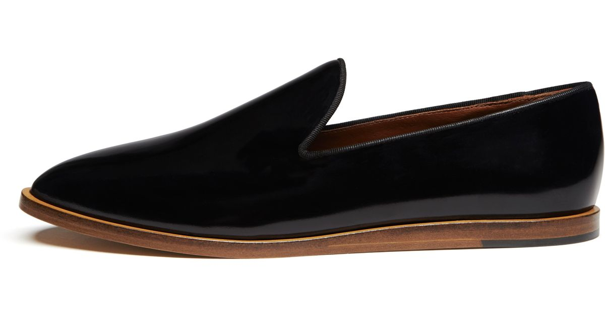 5c8b0706a97 Lyst - Mulberry Loafer in Black