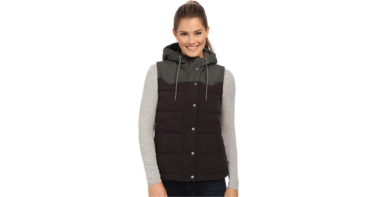 46acac9d5 Patagonia Black Bivy Hooded Vest