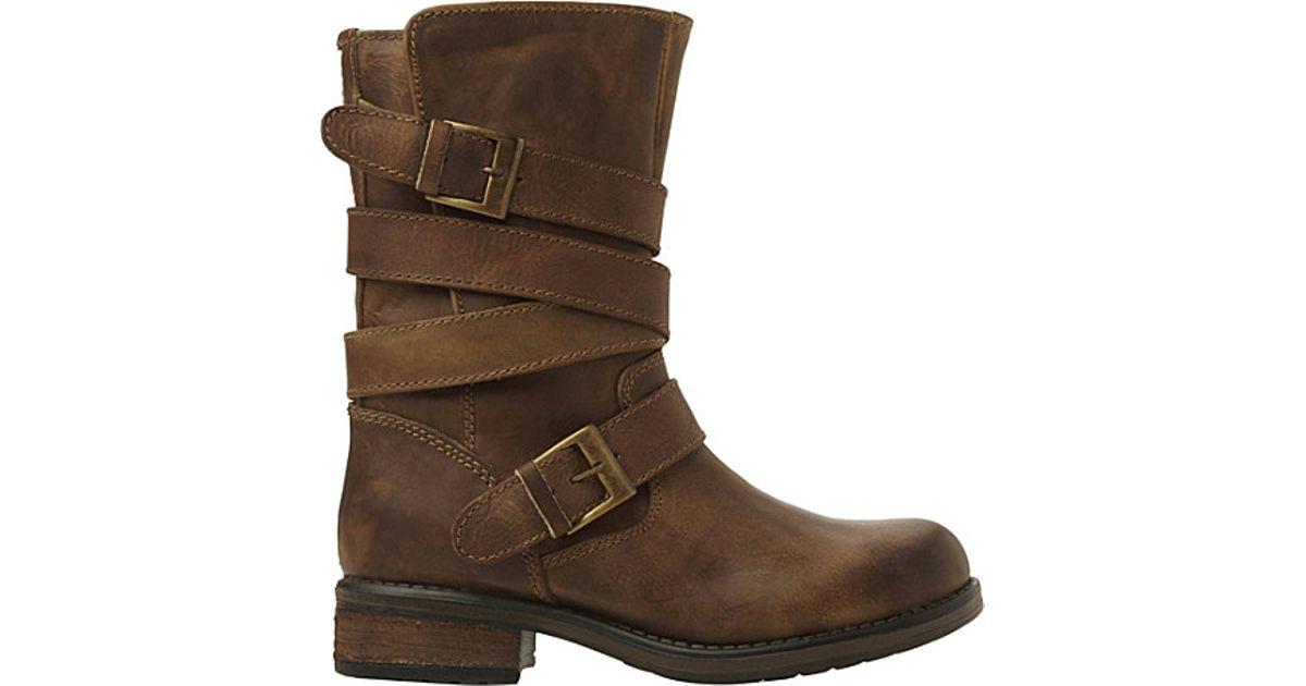 steve madden kindell leather biker boots for in